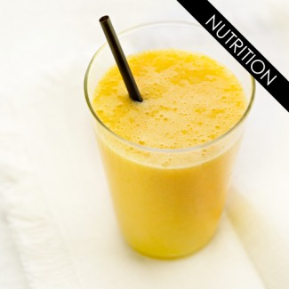 Smoothie mangue passion